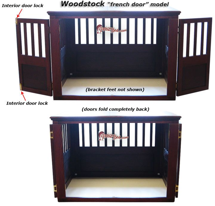 Wooden Dog Crates Woodworking Projects Plans