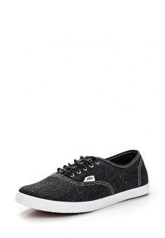 Кеды Vans, цвет: черный. Артикул: VA984AUFMF11. Мужская обувь / Кроссовки и кеды / Кеды