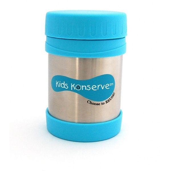 Termoopakowanie na piknik lub wycieczkę. Kids konserve dostępne są w różnych pojemnościach 500 ml, 750 ml, w zależności od apetytu naszego dziecka.
