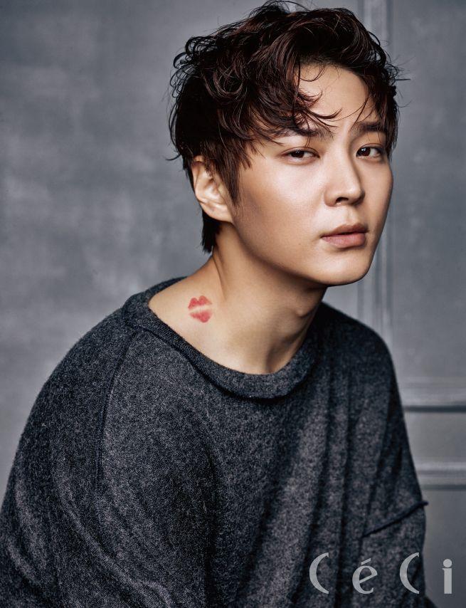 Joo Won - Ceci Magazine December Issue '15