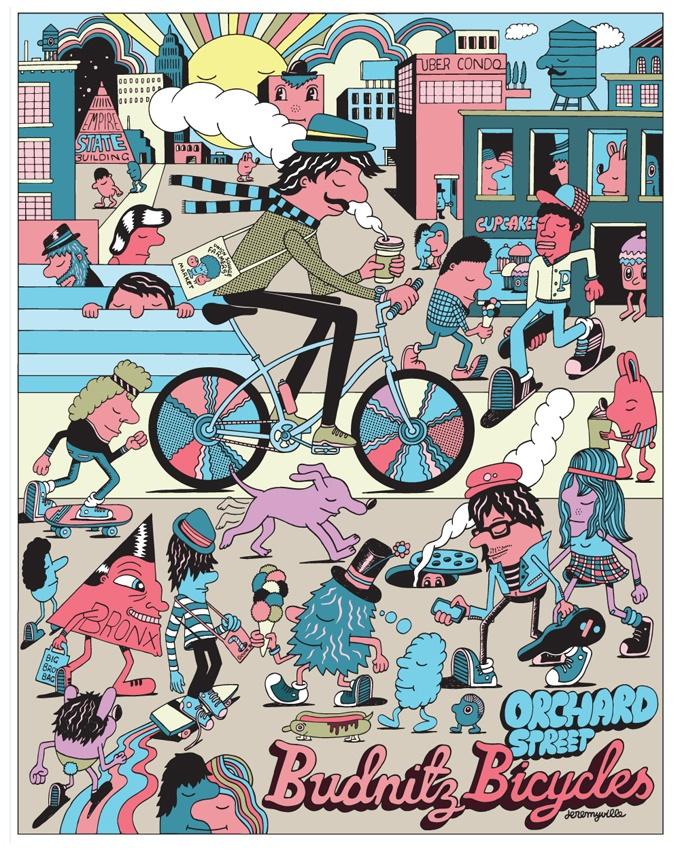 Budnitz Bicycles - by Jeremyville