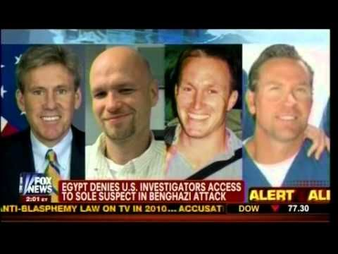 Video: Benghazi Gate - Egypt Denies U.S. Investigators Access To Sole Suspect In Benghazi Attack - Massteaparty· -- Published on Feb 21, 2013 Benghazi Gate - Egypt Denies U.S. Investigators Access To Sole Suspect In Benghazi Attack - Megyn Kelly