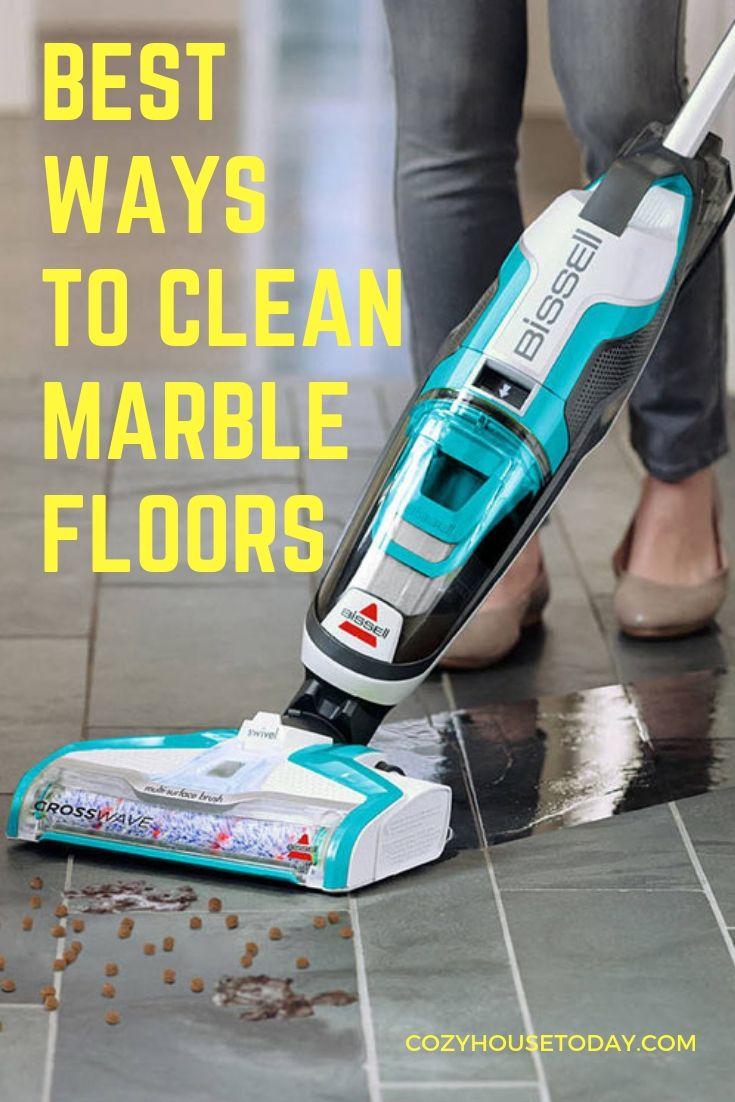 Best Ways To Clean Marble Floors 2020 S How To Methods