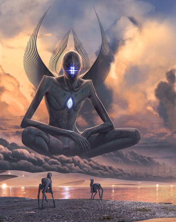 """Contact"" (by Abiogenisis) - A Metahuman meets the Birrin on their homeworld Chriirah."