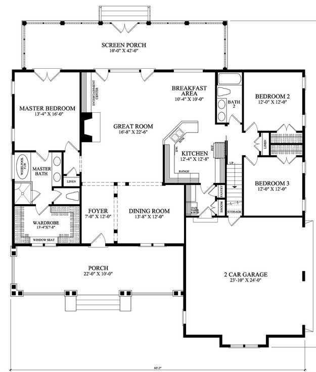 Craftsman Home Plans 2000 Square Feet: 173 Best House Plans