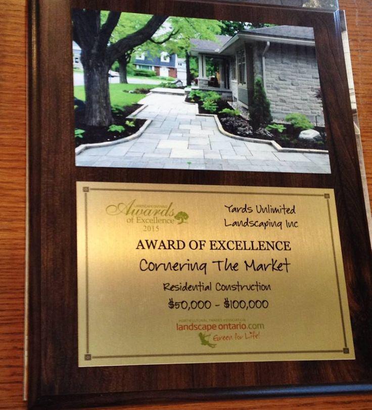 Landscape Ontario 2015 Award: Residential Construction $50, 000 - $100, 000