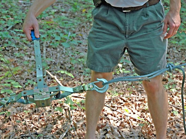 Backyard #ZipLine #Backyard Zip Line Be the hit of the #neighborhood with a high-flying tree-to-tree transporter.