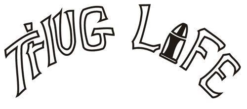 Thug Life Tattoo Remake