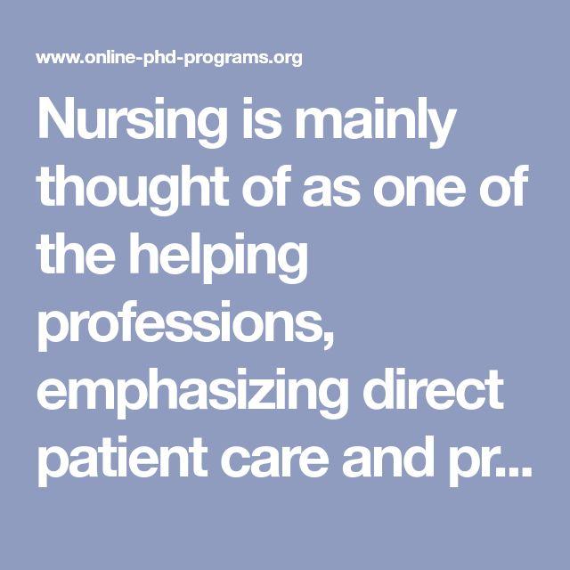 Top 25 Phd Nursing Programs Online Online Phd Programs In 2020 Online Phd Nursing Programs Nursing Online
