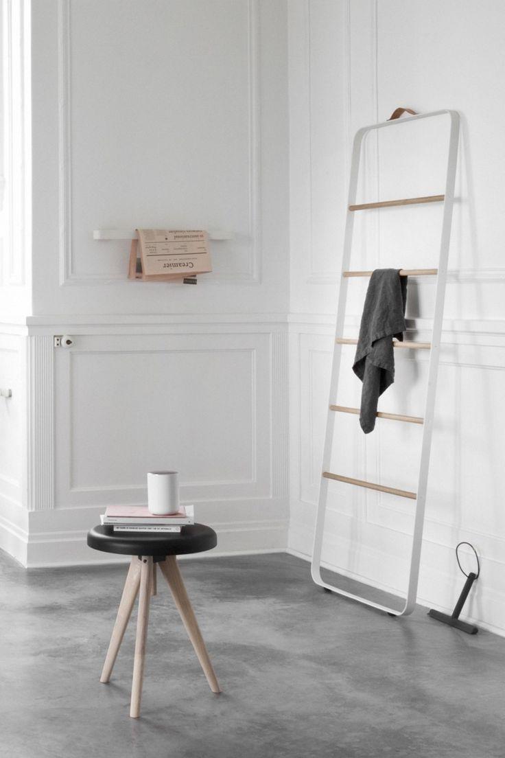 Menu Towel Ladder Handtuchleiter Badezimmer Accessoires Kleines Bad Gestalten