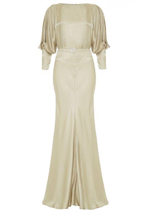 GORGEOUS 30s-style dress.