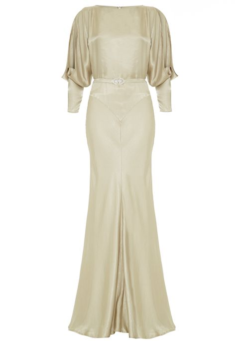 30s style evening gown - what an absolute bargain!