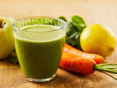 Smoothie-Rezept für einen Grünen Smoothie mit Karotten: So bereiten Sie einen gesunden grünen Karotten-Smoothie zu ...