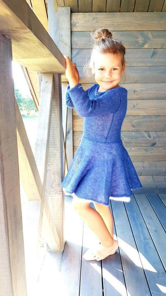 d381df2131b Little girl dresses girls dress wool dress baby girl