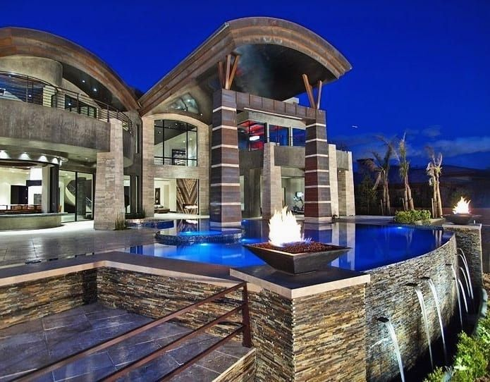 Video The 10 Best Home Decor In The World Las Vegas Luxury Cool Pools Mansions