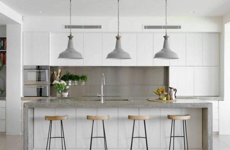 78 best ideas about plan de travail on pinterest deco - Plan de travail cuisine en beton cire ...