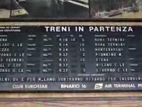 European Train Timetable - YouTube