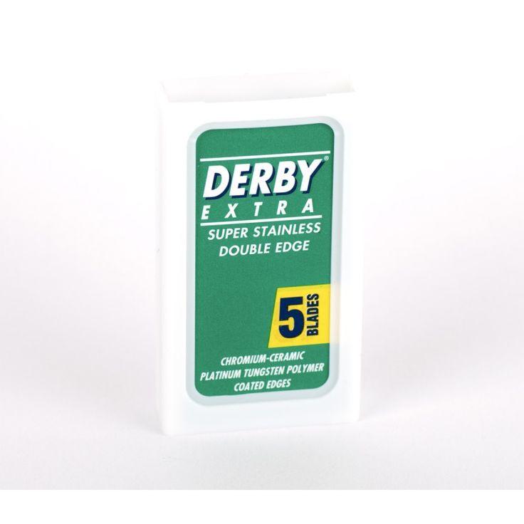 Derby Extra -kaksipuoleiset partaterät - 5 kpl