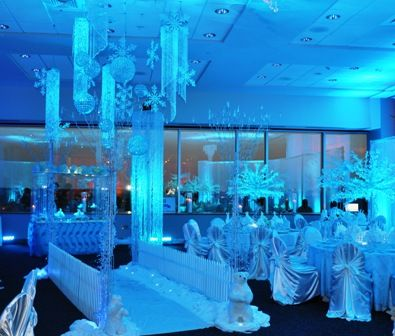 quinceanera winter themes | Bisli Event Services Blog: Winter Wonderland Decoration 2011