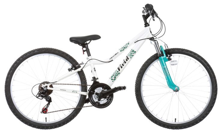 Offering a great look, the Apollo Vivid Girls Mountain Bike is ideal for riding around the streets.