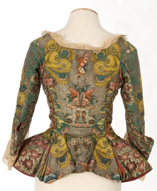 Jacket, 1730-40 (back): Antiques Beautiful, 173040, Historical Vintage Clothing, Century Clothing, 18Th Century, Historicalvintag Clothing, Mid 1700S, Casaca Patterns, 1700 S