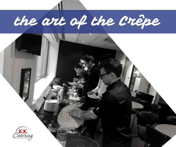 We offer both a crepe stand where we make our crepes to order or perfect for wedding buffets is our crepe buffet where your guests create their own crepes