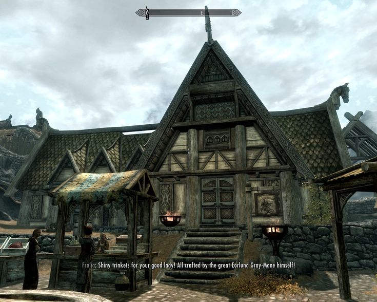 Skyrim architecture norse cabin pinterest skyrim and for Best house designs skyrim