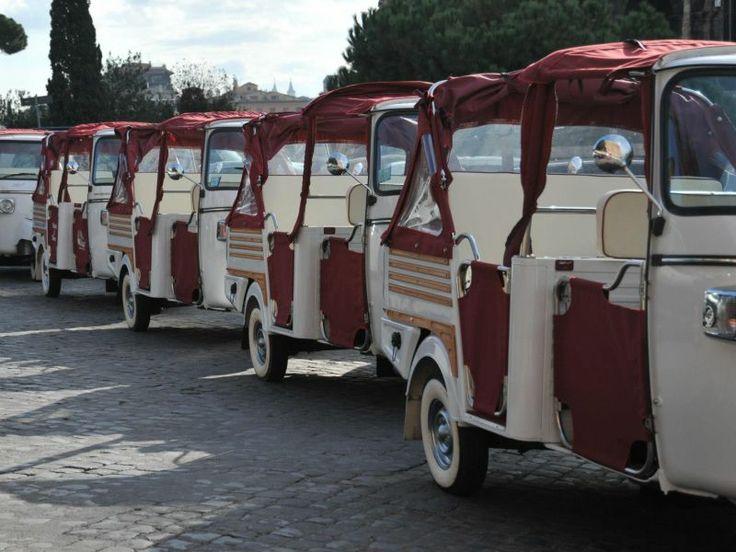 Ape Calessino Rome Tour - #Rome #Tour #ItalyXP #Travel #WeLoveItalyXP #Trip #Italy