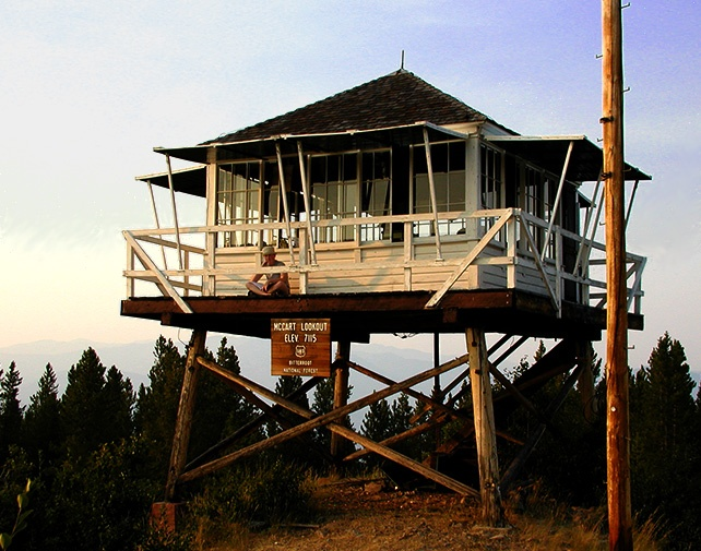 55 best images about firelookout homes on pinterest for Fire lookout tower plans