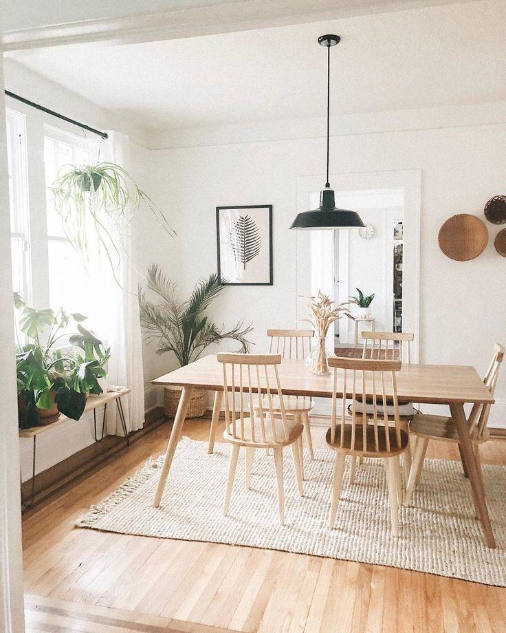 48 Fabulous Scandinavian Dining Room Design Ideas That Looks Cool Rectangular Dining Table Oak Dining Table Luxury Dining Room
