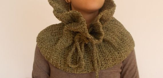 Hand crochet Neck Warmer Ready to ship by vivighiocel on Etsy