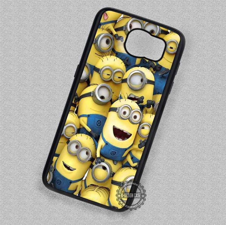 Collage Minion Despicable Me Patterns - Samsung Galaxy S7 S6 S5 Note 7 Cases & Covers