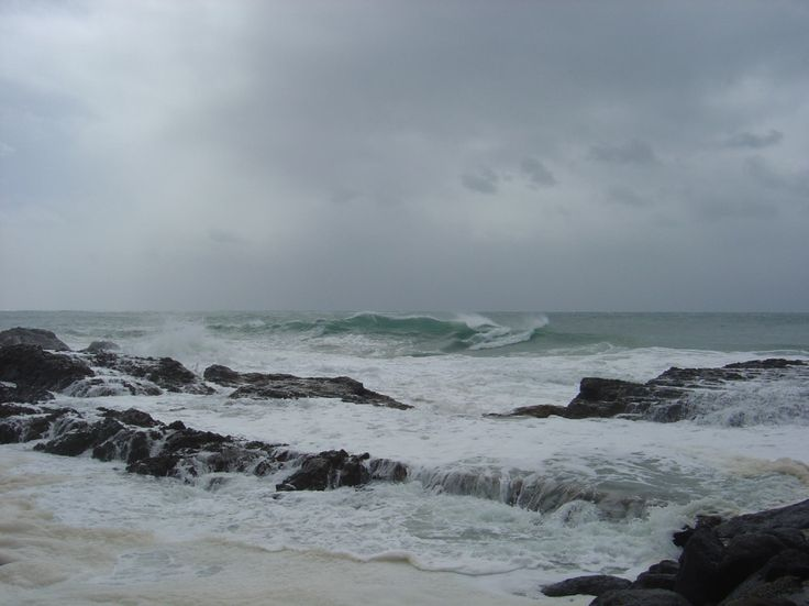 Surf, Point Danger, Coolangatta, Gold Coast, Australia
