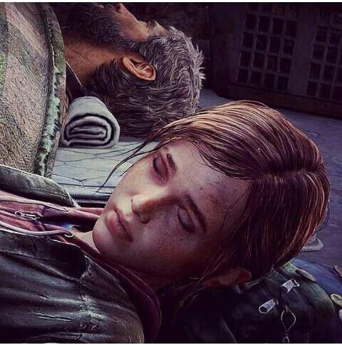 Joel and Ellie... there's nothing they wouldn't do for ...