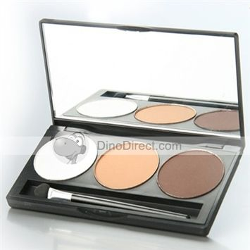 3 Colors Makeup Eye Shadow Palette