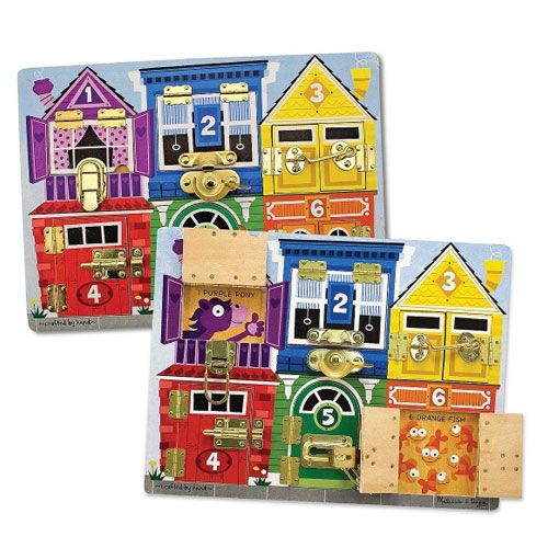 Latches Board by Melissa and Doug
