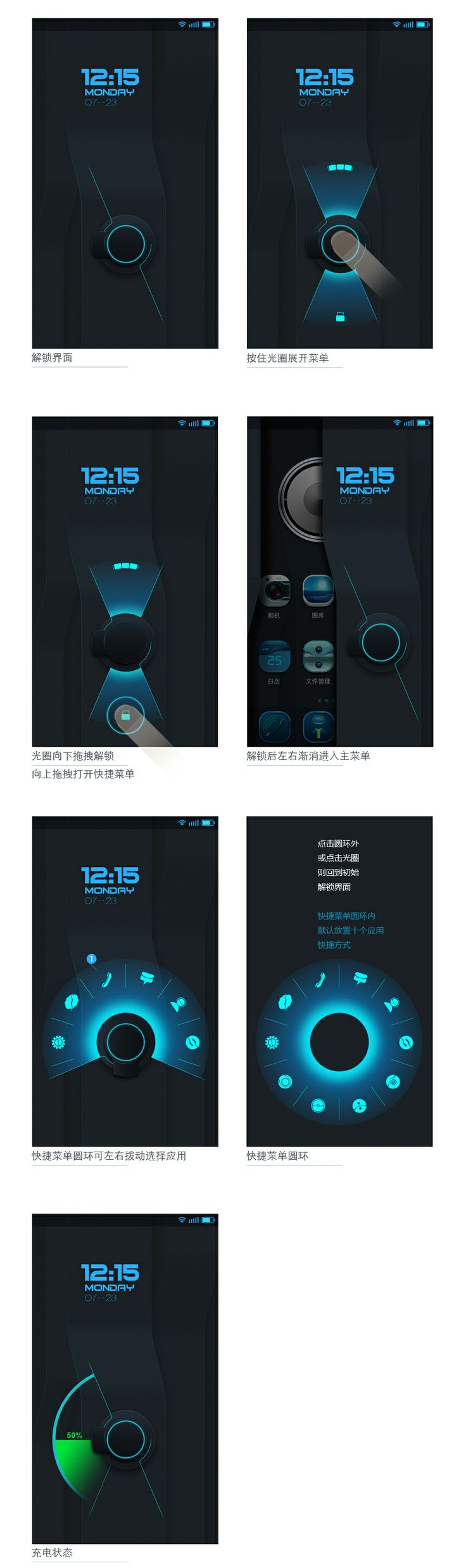 Now THIS would be an amazing UI... Hear that Samsung... Forget Touch Wiz and adopt this