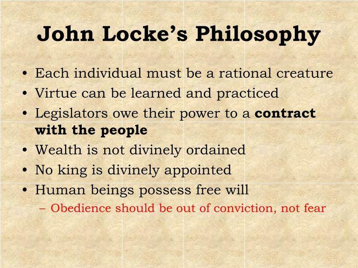 John Locke Beliefs | PPT - The Age of Enlightenment PowerPoint Presentation - ID:560823