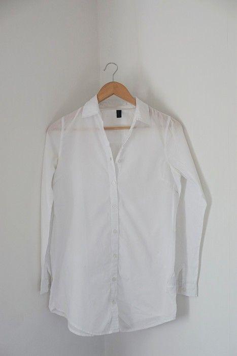 weiße Longbluse von Vero Moda