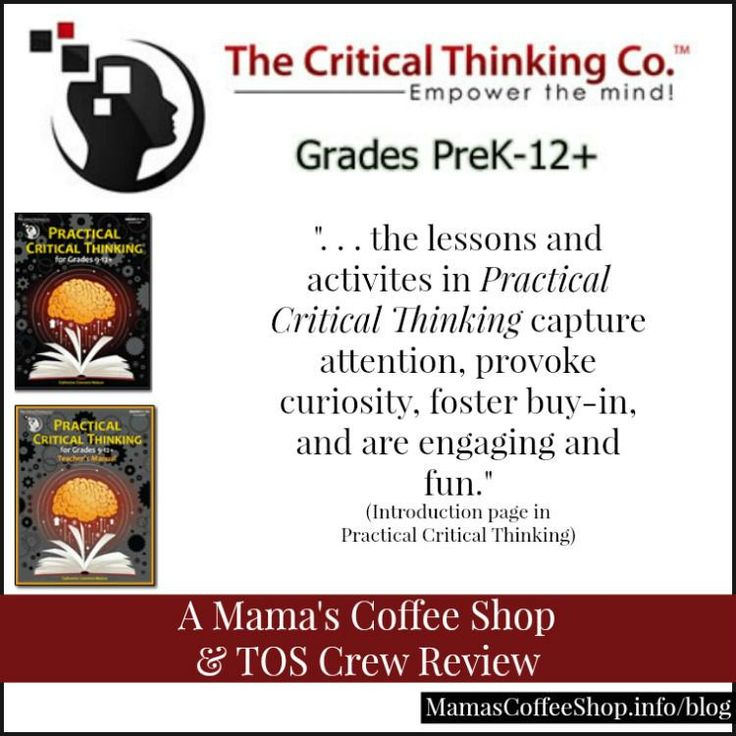 critical thinking company homeschool Homeschool belle 168 likes homeschool tips for keeping it  the critical thinking company™ publishes award-winning prek-12+ books and software to develop.