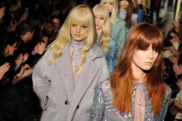 Sulle passerelle della Milano Moda Donna F/W 2013-2014 va in scena la ragazza civettuola di Emilio Pucci