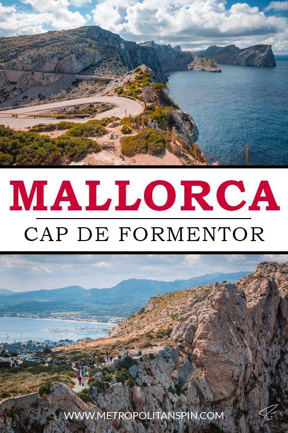 Visiting Mallorca? Check out the beautiful Cap De Formentor! #europe #mallorca #majorca #spain #travel