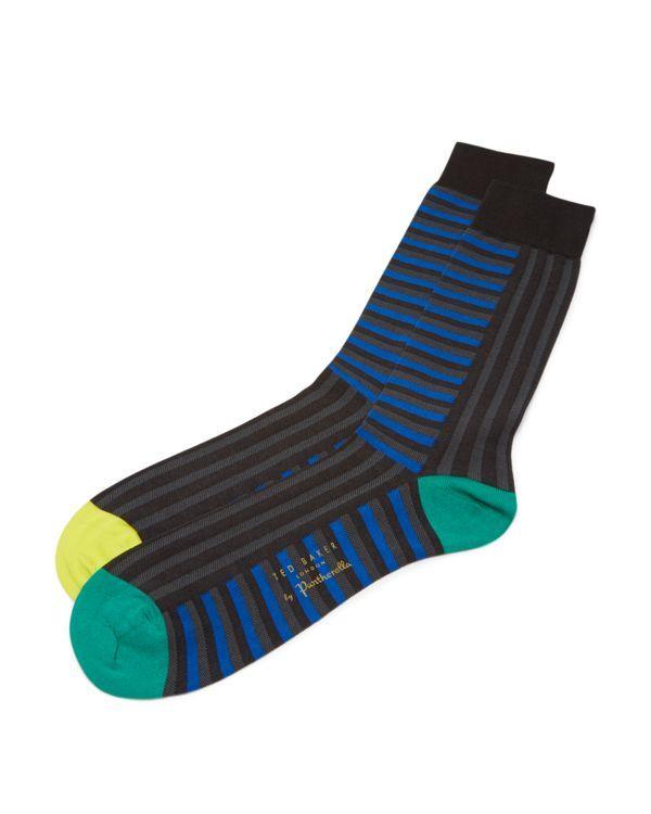 Ted Baker Vertach Multiple Striped Socks