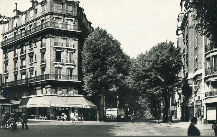 Vue de l'avenue Gambetta en 1966  (Paris 20ème)