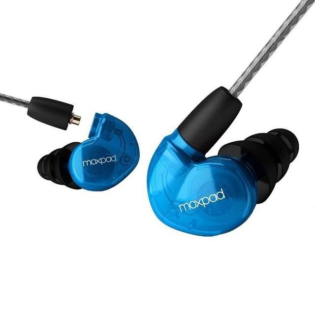 Original Moxpad X6 Pro In-Ear Earphones Sound Isolating Earbuds Replacement Cable+Noise Isolating Earphone For inphone Xiaomi
