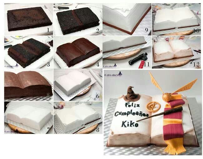 harry potter cake decorations 260 best images about book cakes on 4729