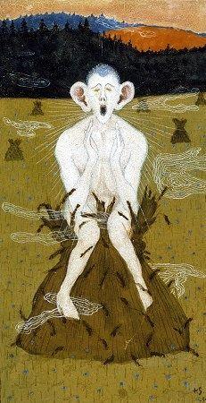 Frost - Hugo Simberg - 1895 Style: Symbolism