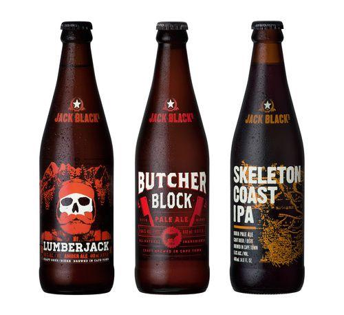 Jack Black's Brewing Co.  via @The Dieline