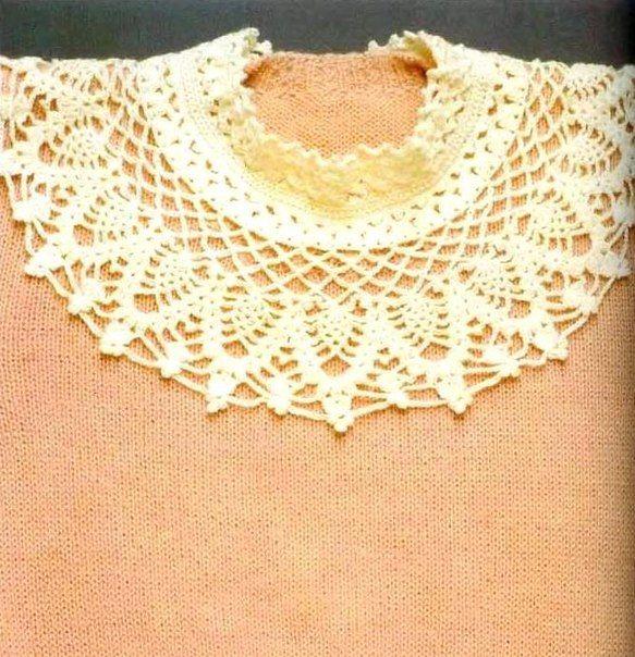 """Hoy te traigo esta bella propuesta ,varios modelos """"accesorios"""" de cuellos para adornar tus prendas."""