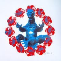 Zen Godzilla Blue/Red By Trafford Parsons: Category: Art Currency: GBP Price: GBP150.00 Retail Price: 150.00 Trafford Parsons describes The…